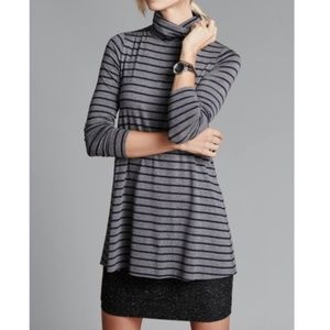 Anthro Bailey 44 Layered Turtleneck Dress XS